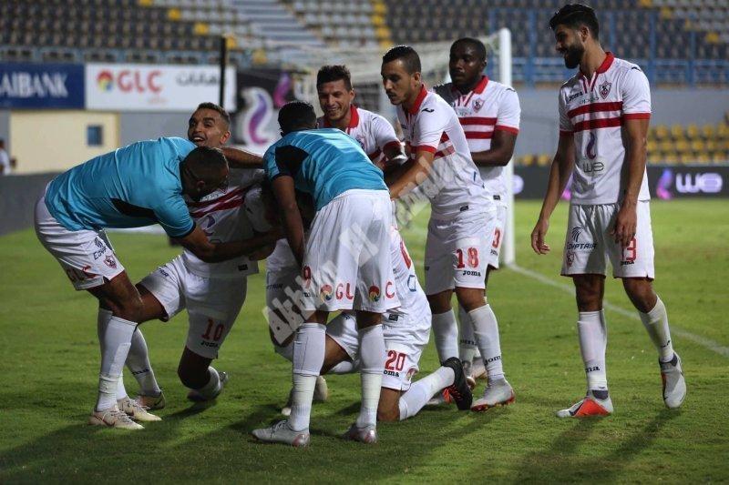 الجولة السادسة   الزمالك 3 ـ 0 طلائع الجيش [تصوير: سارة عبد الباقي]