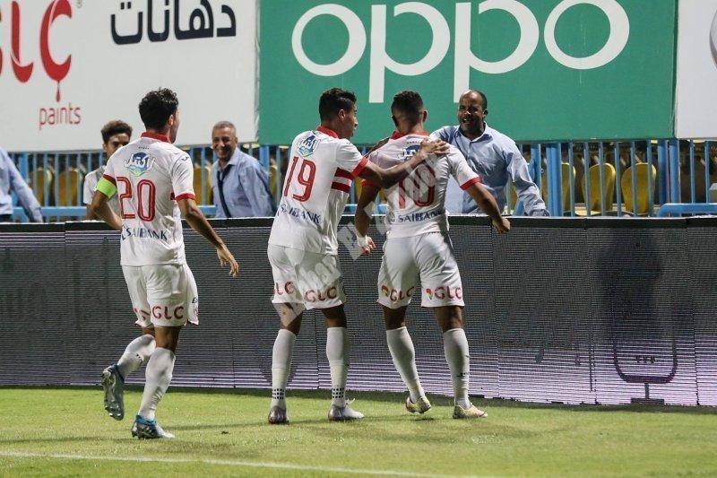 الجولة الثامنة| الزمالك 2 ـ 1 المقاولون العرب [تصوير: سارة عبد الباقي]