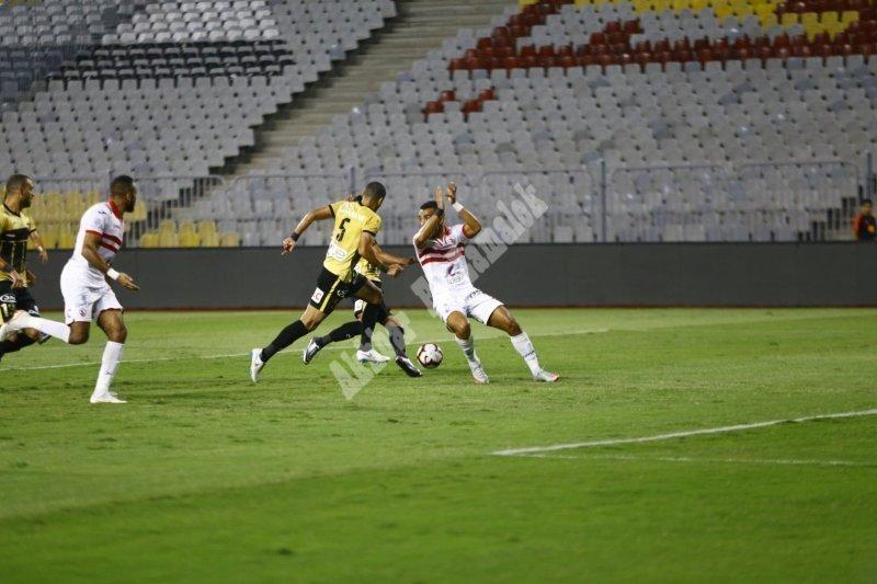 دور 16 بكأس مصر | الزمالك 2 - 0 الانتاج الحربي [تصوير: سارة عبد الباقي]