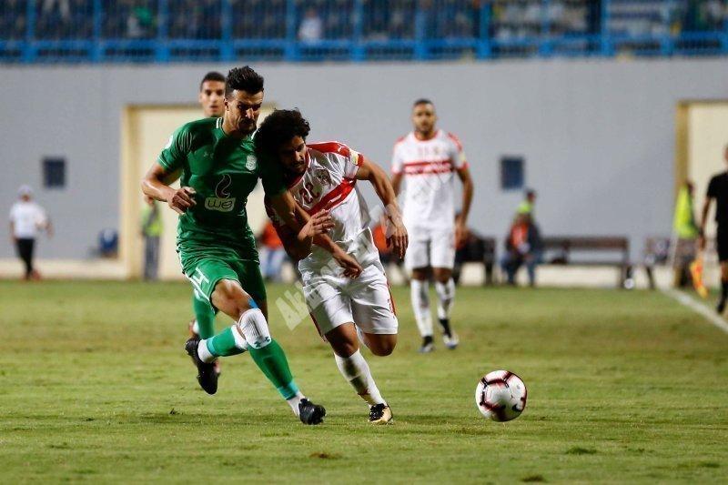 إياب دور 16 كأس زايد   الزمالك 0 - 1 الاتحاد [تصوير: سارة عبد الباقي]