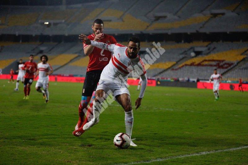 الجولة 26 بالدوري | الزمالك 0 - 0 الأهلي [تصوير: سارة عبد الباقي]
