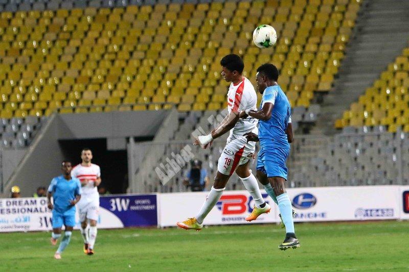 دوري أفريقيا | الزمالك 13 - 0 ديكاداها [تصوير: سارة عبد الباقي]