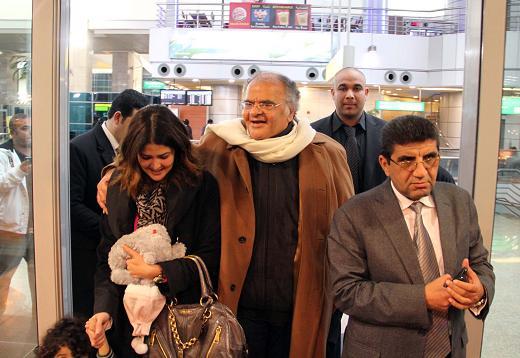 شاهد بالصور الحصرية .. كواليس وصول ممدوح عباس إلى القاهرة