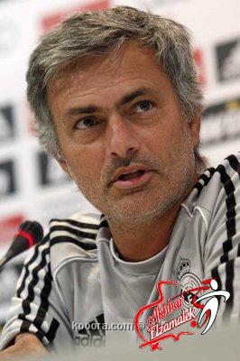 """مورينيو: أمرت اللاعبين بتنظيف """"قاذورات"""" الشوط الأول فى مباراة مالاجا"""
