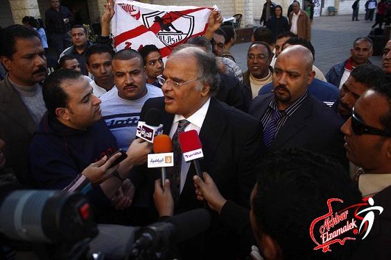 فيديو .. عباس يفتح النار على زكى ويحيى وحمدى ويتساءل : هل نغلق النادى حتى يرتاح الجميع ؟