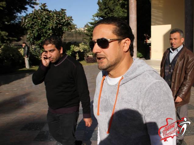 بالصور الحصرية .. نادر شوقى يسحب شكوى عمرو زكى ضد الزمالك من اتحاد الكرة