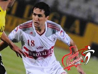 خاص .. إتجاه في الزمالك للموافقة علي إعارة حسين حمدي