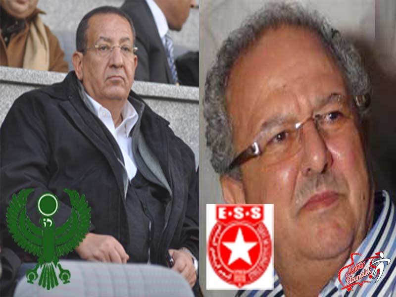 اتفاقية  توأمه بين المصرى البورسعيدى والنجم الساحلى التونسى