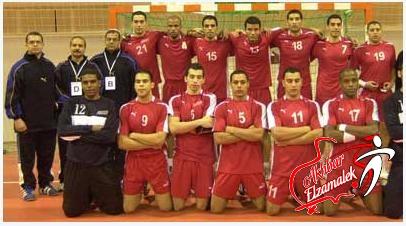 المنتخب المصري يحقق فوزه الثاني على التوالي في بطولة افريقيا لليد
