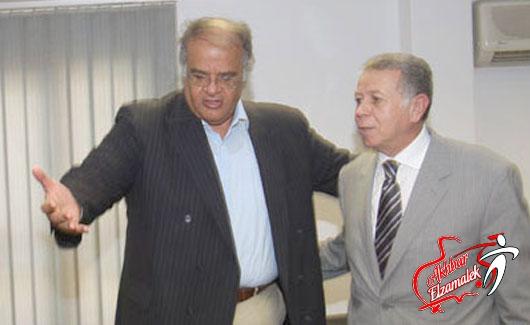 ممدوح عباس وحسن حمدى يعلنان رابطة المحترفين في الزمالك 25 يناير