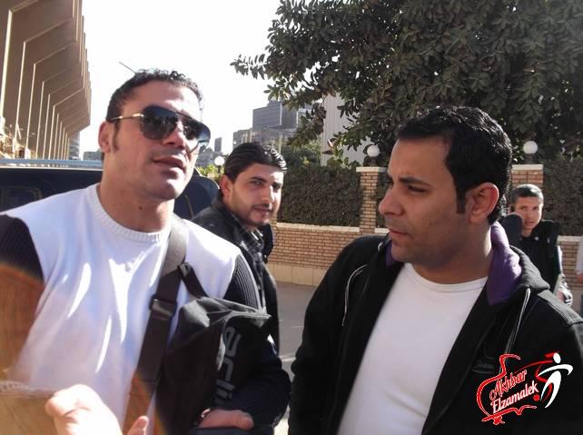 """حصرياً بالفيديو .. شاهد عمرو زكى وهو يوجه اعتذاره للجماهير البيضاء عبر موقع """"أخبار الزمالك"""""""