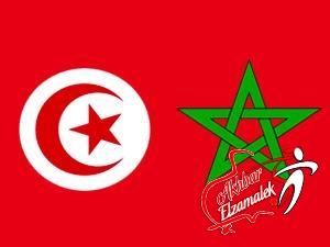 الليلة : تونس والمغرب فى لقاء نارى بامم افريقيا 2012