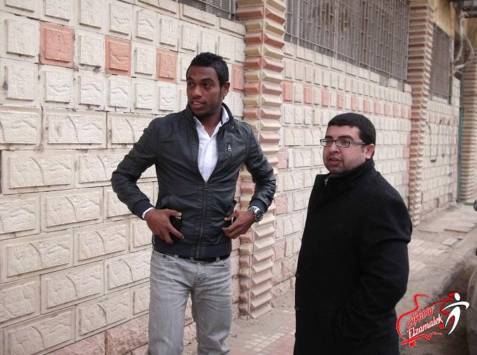 بالصور .. الميرغني يعود للزمالك للاجتماع بعباس لحل أزمة مستحقاته