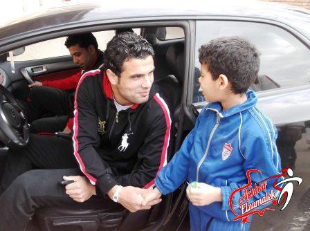 شاهد بالصور الحصرية: جعفر يخطف الاضواء مع الاطفال في مران اليوم