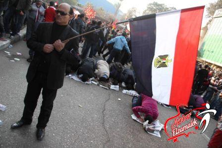 """خاص .. شيكابالا يقود مسيرة """"الوايت نايتس"""" وألتراس أهلاوى من ميدان مصطفى محمود للتنديد بـ """"مذبحة بورسعيد"""""""