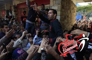 فيديو.. تريكة وشادي وشكري يهتفون في المظاهرة المنددة لاحداث بورسعيد