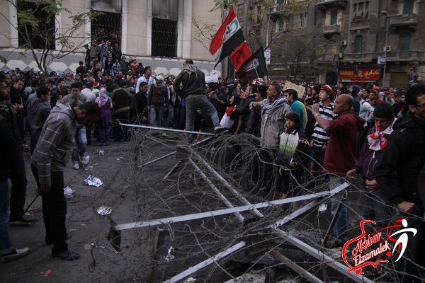 شاهد بالصور الحصرية .. مظاهرات جماهير الألتراس أمام وزارة الداخلية بسبب مذبحة بورسعيد