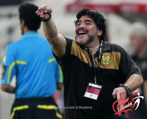 """مارادونا : مأساة الكرة المصرية """"وصمة عار على جبين كرة القدم"""""""