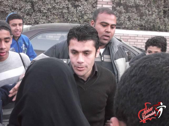 الصقر يتلقى دعوة للمشاركة في وقفة سلمية لوقف الاشتباكات بشارع محمد محمود