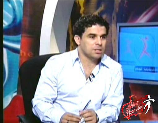 فيديو .. على الهواء : الغندور يكتب إقراراً على نفسه!!