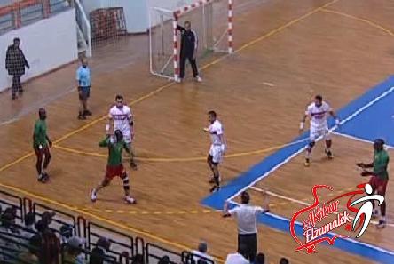 الزمالك يواصل تألقه ويكتسح بطل مدغشقر 41 - 20 في البطولة الأفريقية لكرة اليد