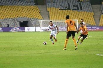 مباشر مباراة الزمالك والقادسية الكويتى  سيطرة بيضاء وفرصة ضائعة
