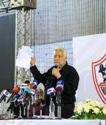 تفاصيل أعظم موقف إنساني لمرتضى منصور لإنقاذ نجم الزمالك السابق  من السجن