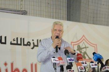 مرتضى منصور: انتظروا كشف فضيحة أحمد سليمان الليلة