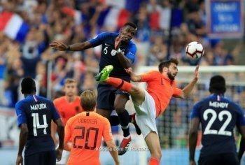 ديوك فرنسا تكسر طواحين هولندا فى دورى الامم الأوروبية