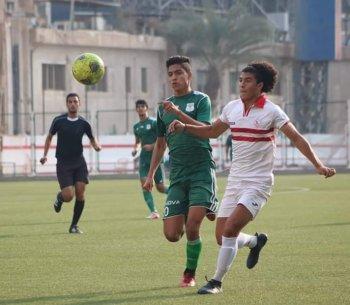 بالصور شباب الزمالك يكتسحو المصري البورسعيدي فى بطولة الجمهورية