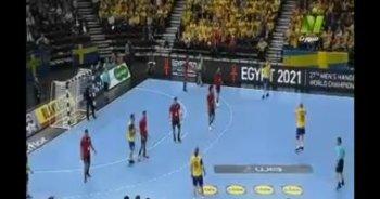تعرف على نتيجة الشوط الاول من  مصر والسويد  فى كأس العالم لكرة اليد،