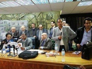 نجاح الثلاثى  الزمالكاوى فى انتخابات نقابة الصحفيين بقيادة ضياء رشوان