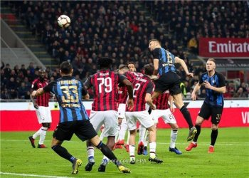 الانتر يفوز فى ديربى الغضب بعد مباراة مجنونة ونابولى يعود لسكة الانتصارات