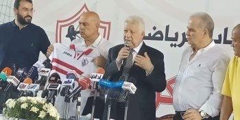 مرتضى منصور يكشف لأخبار الزمالك موقف خالد جلال ومصير جروس ومعاونيه