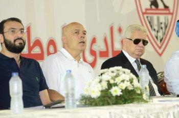 اخبار الزمالك اليوم يكشف  تفاصيل الجلسة الساخنة بين مرتضي منصور وجروس