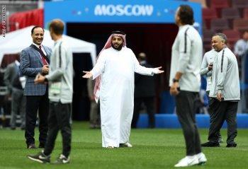 تركي آل الشيخ يقلب الفيس بوك بقصف جبهة الاهلى والخطيب