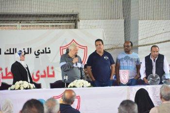 بالصور ...مرتضى منصور يعلن عن مفاجأة جديدة لأعضاء الجمعية العمومية