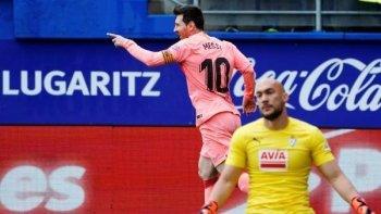 نتيجة تاريخية لايبار امام برشلونة فى  ختام الليجا  الإسباني
