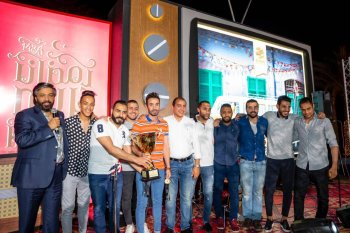 مكافأة فريق «دي إتش إل» بمشاهدة آرسنال بلندن بعد الفوز ببطولة هايد بارك