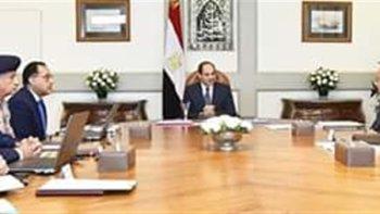 السيسى يجتمع بمجلس الوزراء لحسم ملفات كأس الأمم الأفريقية