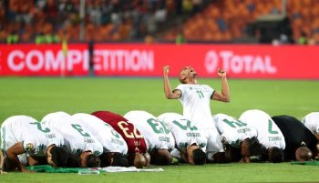 بالصور ..الجزائر  بطل كأس الأمم الإفريقية مصر 2019