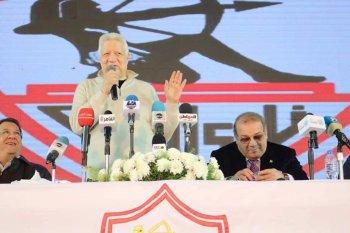 مرتضي  منصور يرفض مبادرة راتب للصلح مع الاهلى ويقول شرف للخطيب يقعد معايا