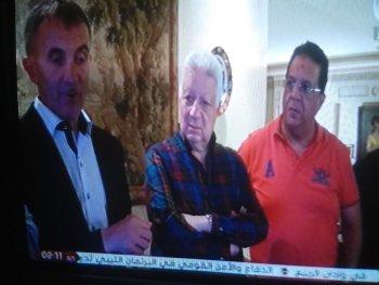 مرتضى منصور ..يعلن الزمالك تعاقد رسميا مع ميتشو  وعزومة سمك وجمبرى على شرف المدرب الجديد