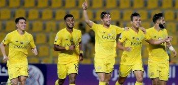 الوصل الإماراتي يضرب الهلال السوداني بثنائية في البطولة العربية