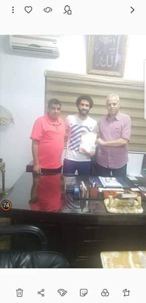 بالصورة  .. الانتاج  الحربي يعلن ضم باسم مرسى فى غياب الزمالك