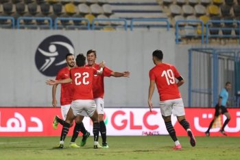 منتخب مصر  الأولمبي  يهزم السعودية فى بترو سبورت