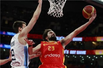 بالصور اسبانيا بطل العالم لكرة السلة بعد اكتساح راقصى التانجو