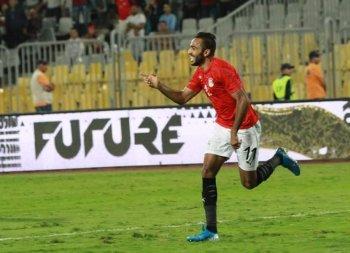 العارضة  تمنع منتخب  مصر  من هدف مبكر  تعرف على النتيجة