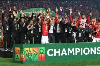 بالفيديو.... منتخب  مصر الأولمبي  بطل كأس الامم الافريقية  فى الوقت القاتل