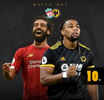 بث مباشر | مشاهدة مباراة ليفربول ووولفرهابتون في الدوري الإنجليزي